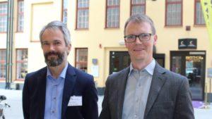J. Ahlberg (left)