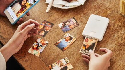 Canon lets users print out photos decorated with face filters