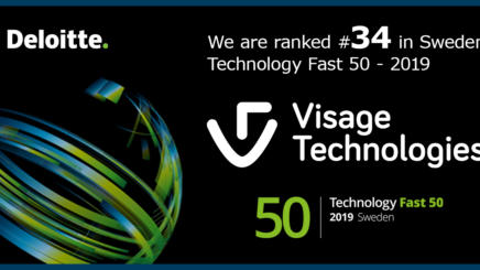 Visage Technologies on Deloitte's Fast 50 for the 3rd year in a row