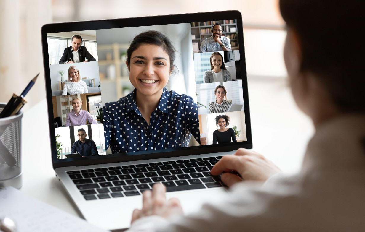 virtual background for video conferencing